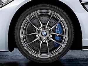 Легкосплавное дисковое колесо (V-образные спицы) 640M для BMW 2 Series F87