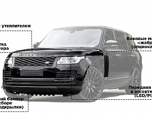 Рестайлинг Range Rover Vogue 2019