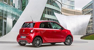 Тюнинг Smart ForTwo, ForTwo Cabrio и Smart ForFour от Brabus