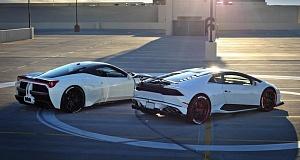 Lamborghini Huracan и Ferrari 458 в обвесах от Misha Design