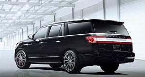 Lincoln Navigator с доработками от Hennessey Performance