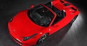 Ferrari 458 Spider – тюнинг итальянского спорткара от Capristo