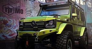Mercedes-Benz G-Class со злобными чертами