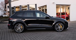 Новый Porsche Cayenne в обвесе Magnum от TechArt