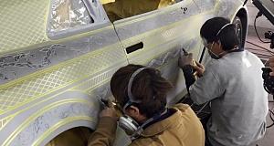 Kuhl Racing и Artisizawa сделали Nissan GT-R золотым