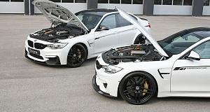 G-Power с демонстрацией тюнинга BMW M4 Coupe и M3