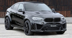BMW X6 Typhoon с 750 л.с. от G-Power