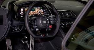 Audi R8 V10 plus получил тюнинг от Fostla