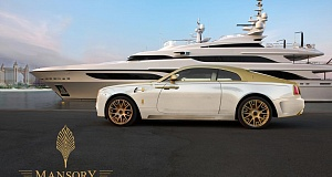 Palm Edition 999 или отделка золотом Rolls-Royce Wraith