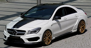 В Loewenstein тюнинговали Mercedes-Benz CLA 45 AMG