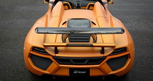 Тюнинг проект компании FAB Design –  McLaren MP4-12C Spider Terso