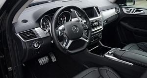 Ателье Brabus – проект Mercedes ML 63 AMG (W166)
