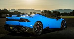 В O.CT Tuning усилили Lamborghini Huracan Spyder