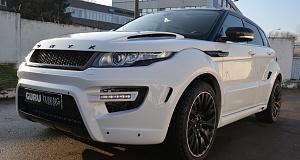 Видео о тюнинге Range Rover Evoque от ONYX