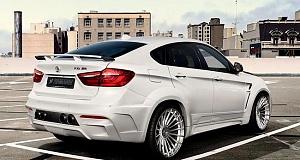 Новый тюнинг пакет Hamann для BMW X6 M50d