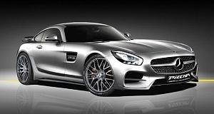 Mercedes AMG GT S с тюнингом от Piecha Design