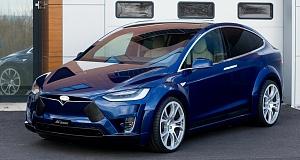 Обвес Virium для Tesla Model X от FAB Design