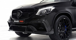 Mercedes-Benz GLE 63 S Coupe благодаря Brabus стал 700 Coupe