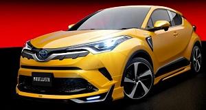 Тюнинг Toyota C-HR от Modellista и TRD