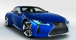 Особенные версии купе LC от Lexus и Marvel
