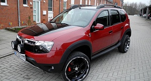 Тюнинг-ателье LZParts – проект Dacia Duster