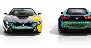 Garage Italia Customs с тюнингом BMW i8 и BMW i3
