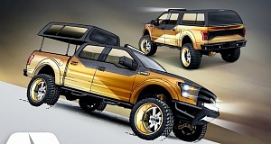Ford на выставке тюнинга SEMA покажет особенные F-150