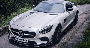 В RevoZport повысили мощность Mercedes-AMG GT S до 650 л.с.