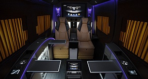 BRABUS Business Lounge for Mercedes-Benz Sprinter