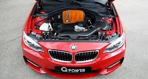 Мощность BMW M235i была увеличена в G-Power
