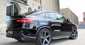 Тюнинг Mercedes GLE 350 d Coupe от Chromatec