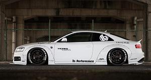 В Liberty Walk тюнинговали Audi A5 Coupe