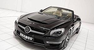 Скоростной родстер Mercedes SL65 AMG в руках Brabus