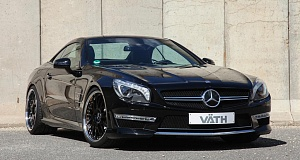 Мощный Mercedes SL 65 AMG с 700 л.с.