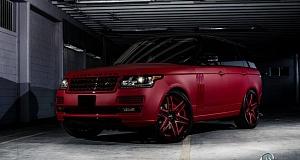 Модернизация Range Rover 2013