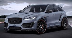 Lumma Design с тюнингом Jaguar F-Pace CLR