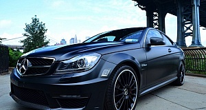 Mercedes-Benz C63 AMG Coupe Dark Knight