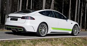 Тюнинг Tesla Model S от Mansory