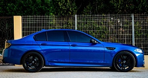 В Manhart Performance улучшили BMW M5