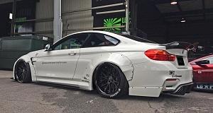 Обвес для BMW M4 Coupe от Liberty Walk
