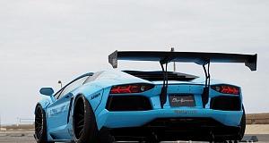 В Liberty Walk произвели тюнинг Lamborghini Aventador