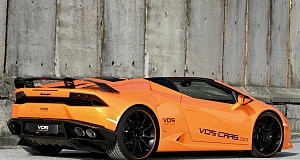 В Vision of Speed тюнинговали Huracan Spyder