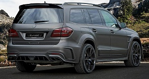 Mercedes-AMG GLS 63 стал еще мощнее