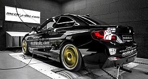 Mcchip-DKR продемонстрировали тюнинг BMW 220i Coupe