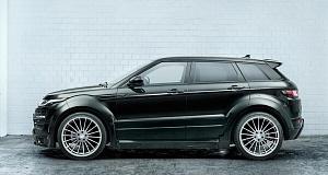 Новый Range Rover Evoque получил тюнинг от Hamann
