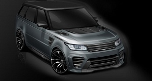 В Overfinch сделали тюнинг Range Rover Sport SVR
