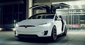 Tesla Model X получила тюнинг от Novitec