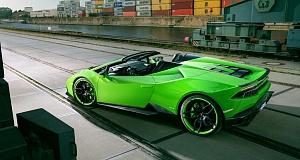 Novitec Torado с тюнингом Lamborghini Huracan Spyder