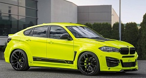 Lumma с новой работой по тюнингу BMW X6 M (F86)