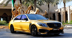 Brabus Rocket 900 Desert Gold Edition в Дубае